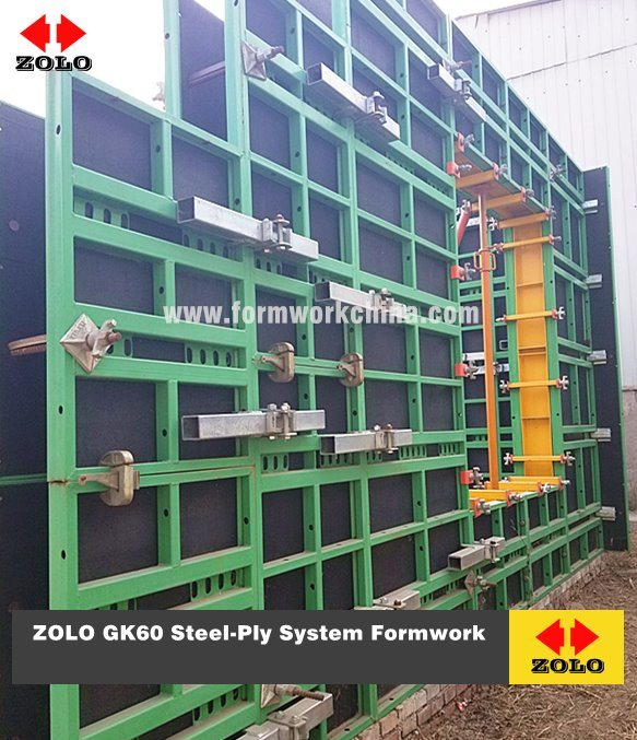 [Hot Item] Zolo Gk60 Steel-Ply Symons Type Formwork for Column and Wall