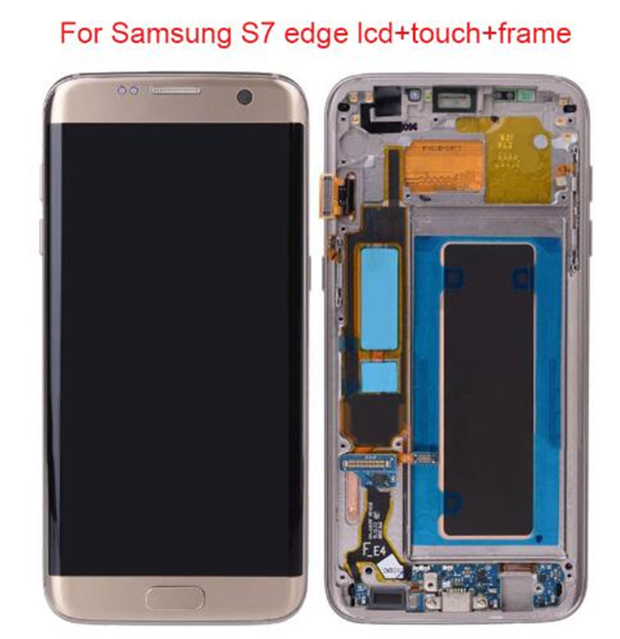 [Hot Item] 100% Genuine LCD Replacement Display Touch Screen for Samsung  Galaxy S7 Edge