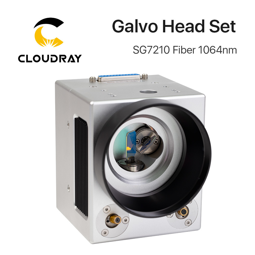 [Hot Item] Cloudray Fiber Laser Galvo Scanner Head Sg7210 with Red Pointer  for Laser Marking Machine