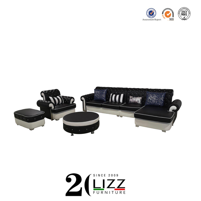 Leather Divan Sofa Set