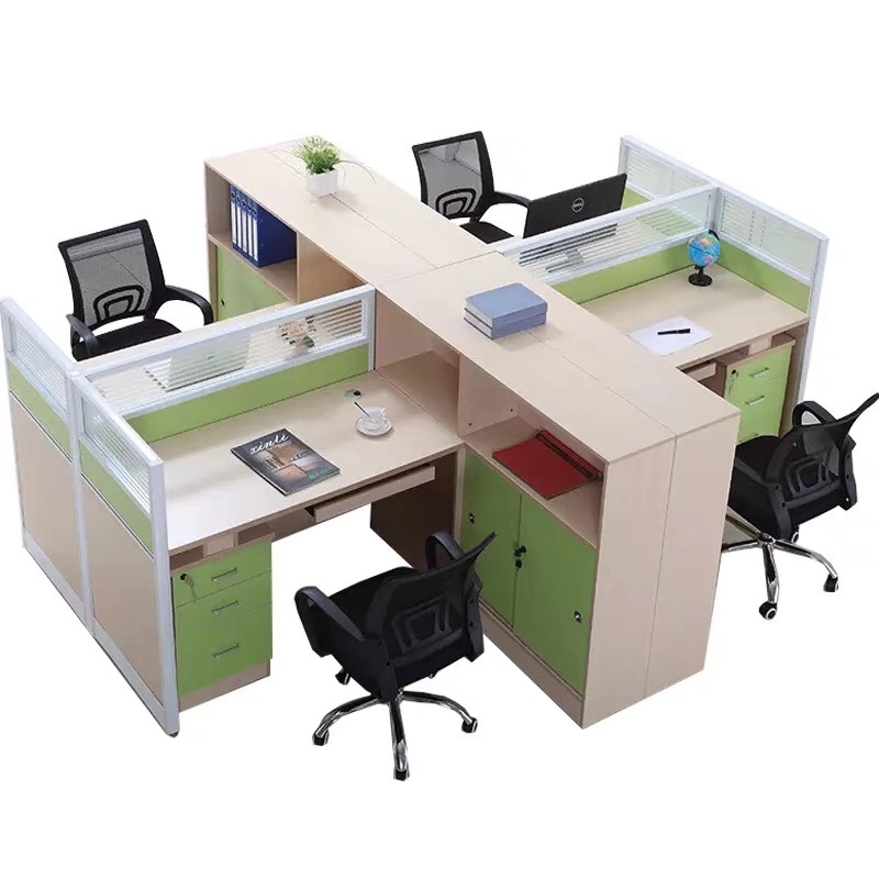 China High Quality Aluminum Profile Partition Design Small Office Cubicle Workstation China High Quality Aluminum Profile Partition Small Office Cubicle Workstation