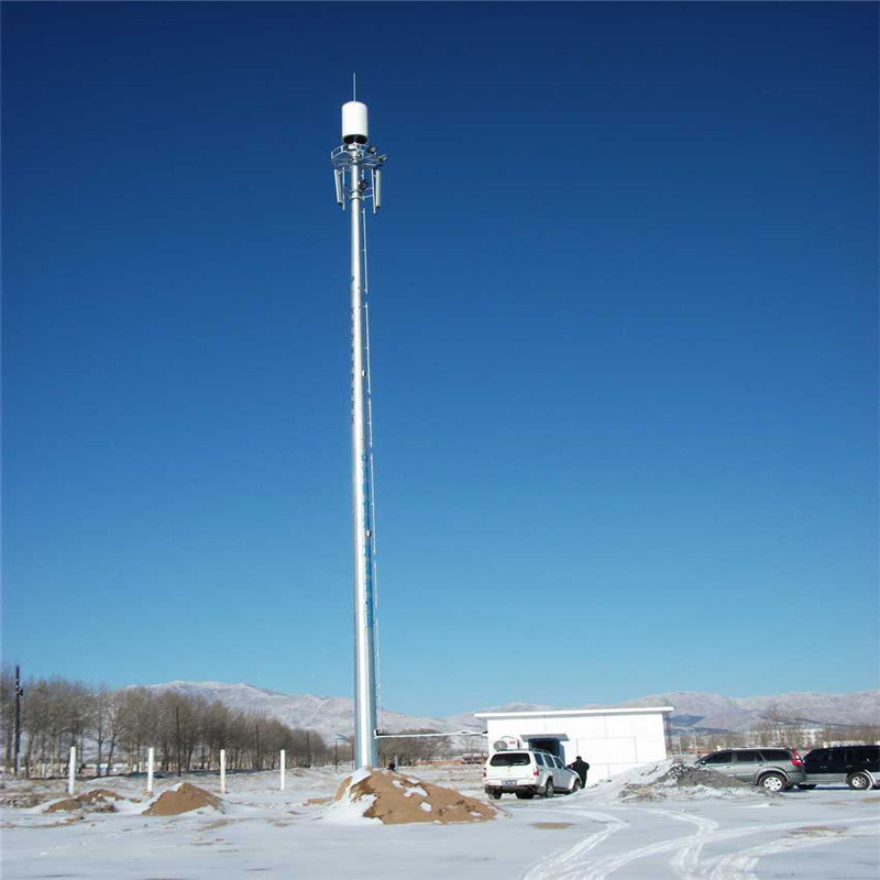 [Hot Item] Galvanized Steel Tube Telecommunication Antenna Tower