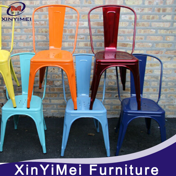 [Hot Item] High Back Dining Room Chair/Metal Chair/Modern Furniture