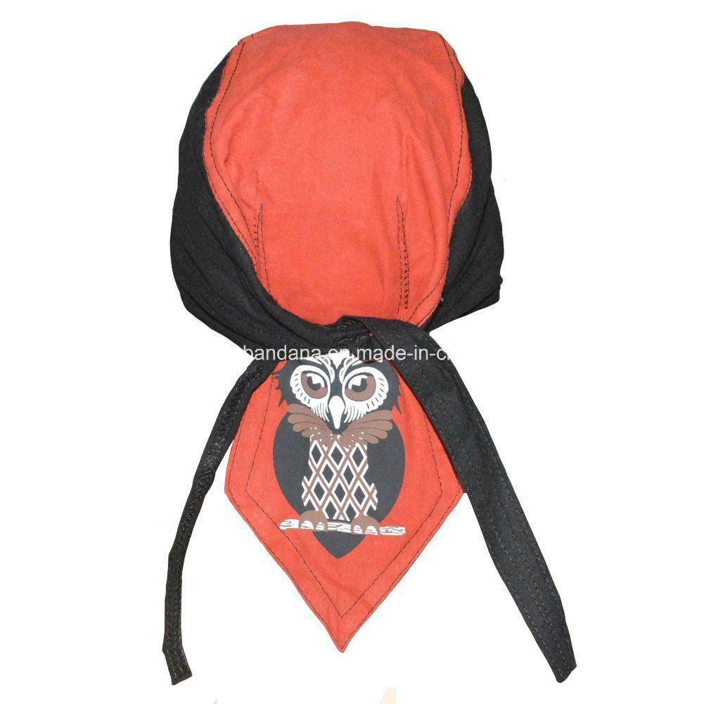c5896e82299 OEM Produce Customized Logo Printed Promotional Biker Snowboard Bandana  Skull Caps Head Wrap
