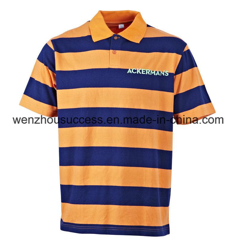 China Man S Cotton Custom Embroidery Logo Polo Shirt China Polo