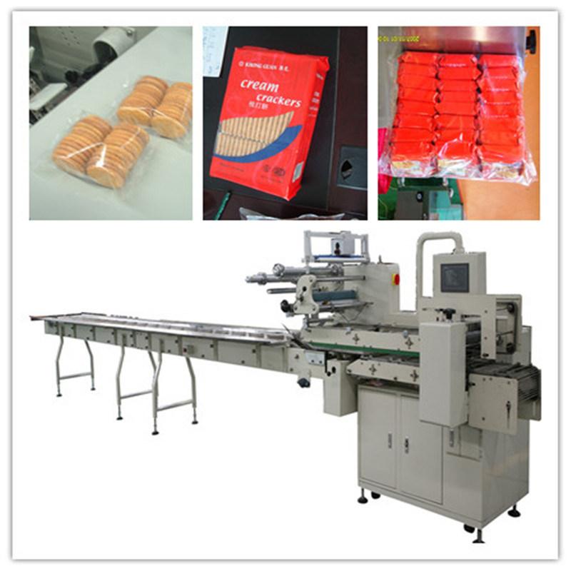 China Automatic Horizontal Flow Pillow Bakery Bread
