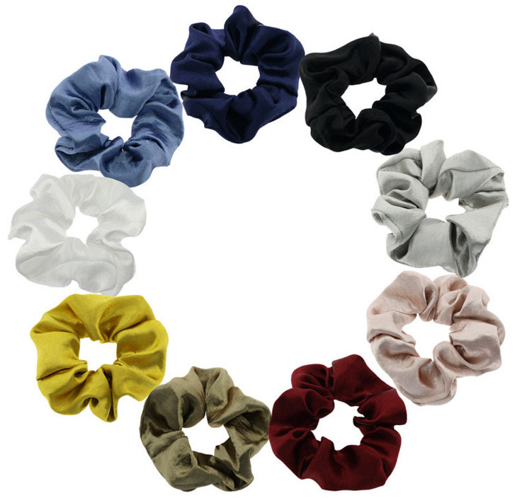 Details about  /For Women Fashions Fabric Covered Resin Hair Bands Solid Color Hair Accessories