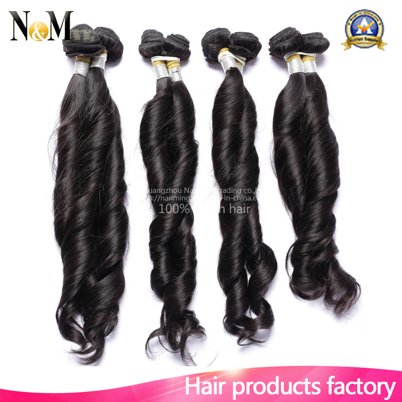 China Hair Extensions Double Drawn Cheap Funmi Curls Virgin