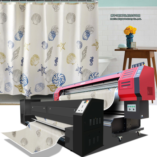 [Hot Item] Warp Knitting Fabric Printer with Epson Dx7 Printheads 1 8m/3 2m  Print Width 1440dpi*1440dpi Resolution for Fabric Directly Printing