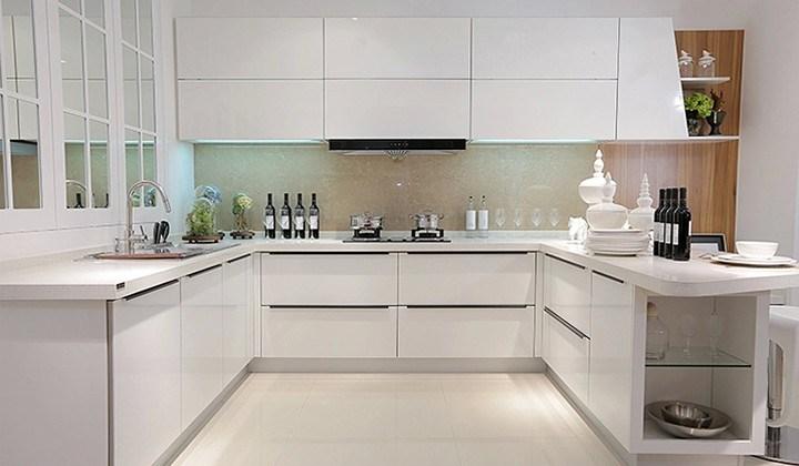 China Wholesale U Shape High Gloss Acrylic Kitchen Cabinet For Kitchen China Kitchen Cabinet Kitchen Furniture