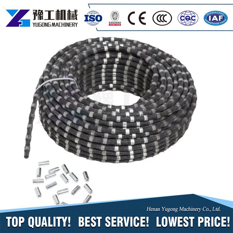 China Stone Quarry Concrete Hydraulic Portable Diamond Wire Saw ...