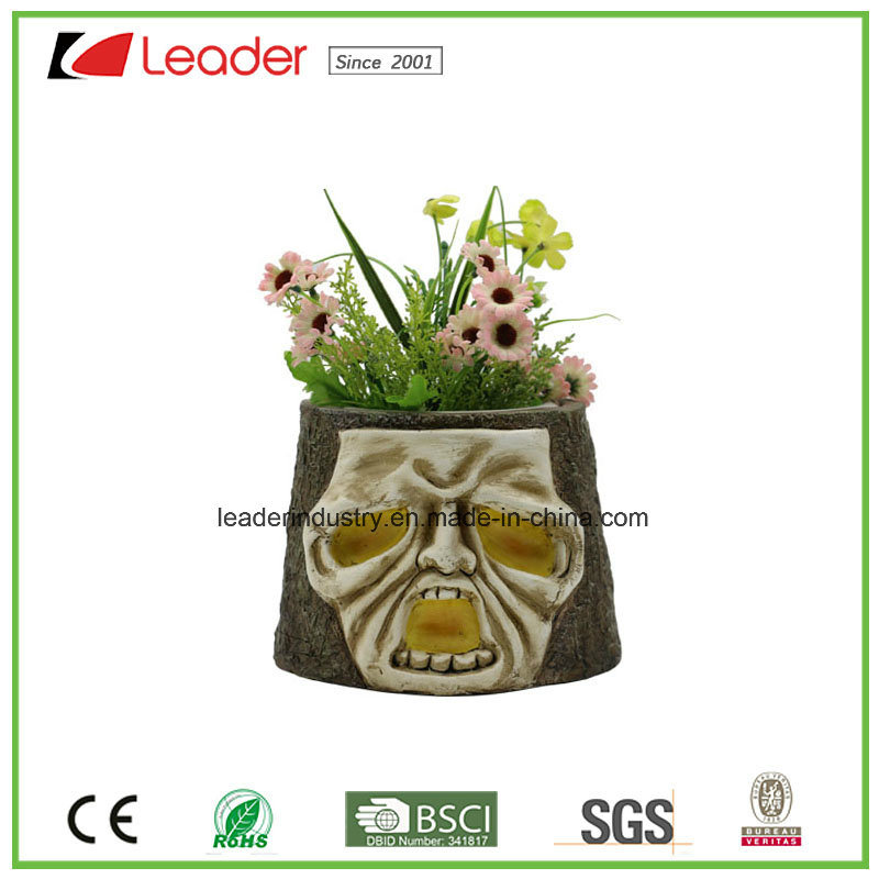 Decorative Polyresin Skull Flowerpots for Home and Garden Decoration pictures & photos