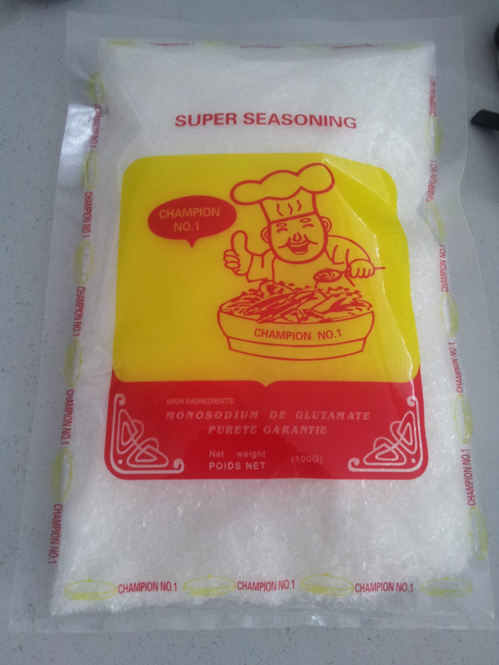 Halal Certified Low Price Super Seasoning Monosodium Glutamate
