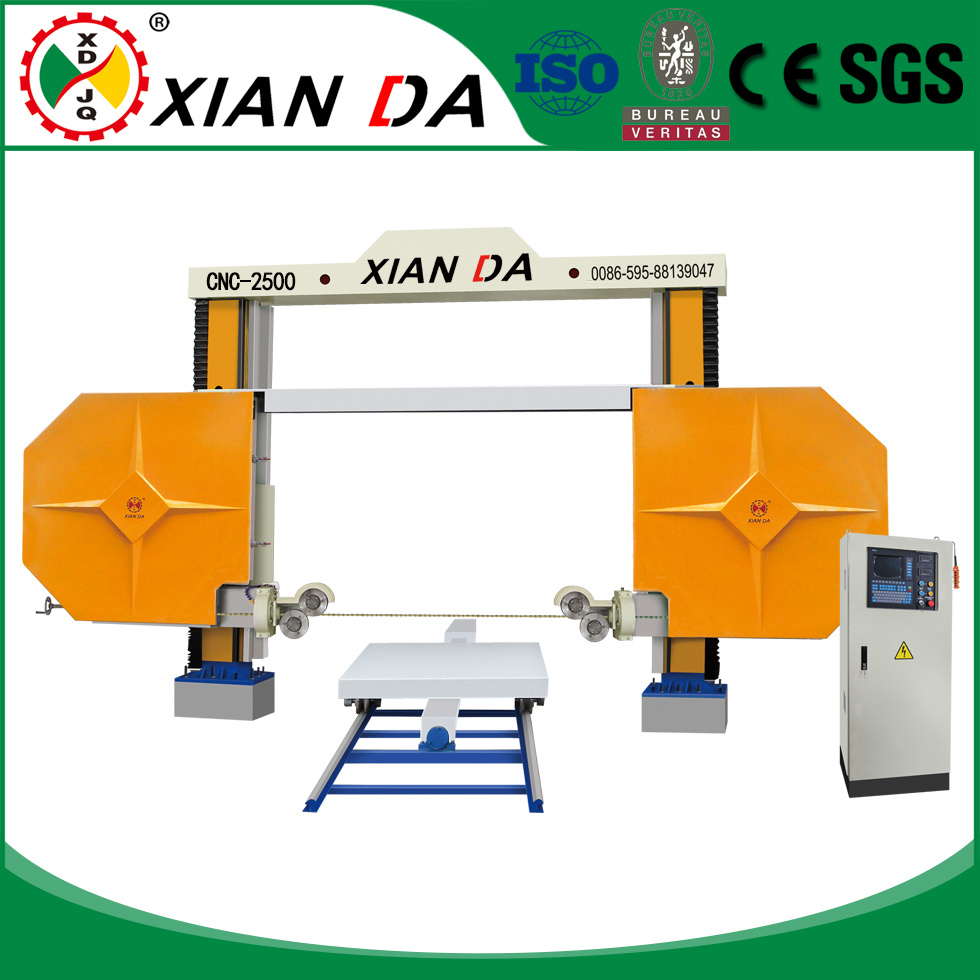 China Mono CNC Automatic Stone Diamond Wire Rope Saw Cutting Machine ...
