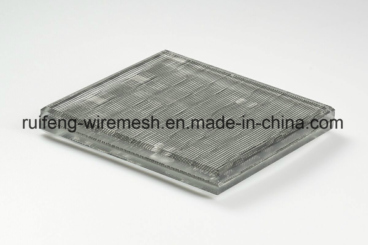 China Prim Partition Wall Wire Laminated Glass Wire Mesh Security ...