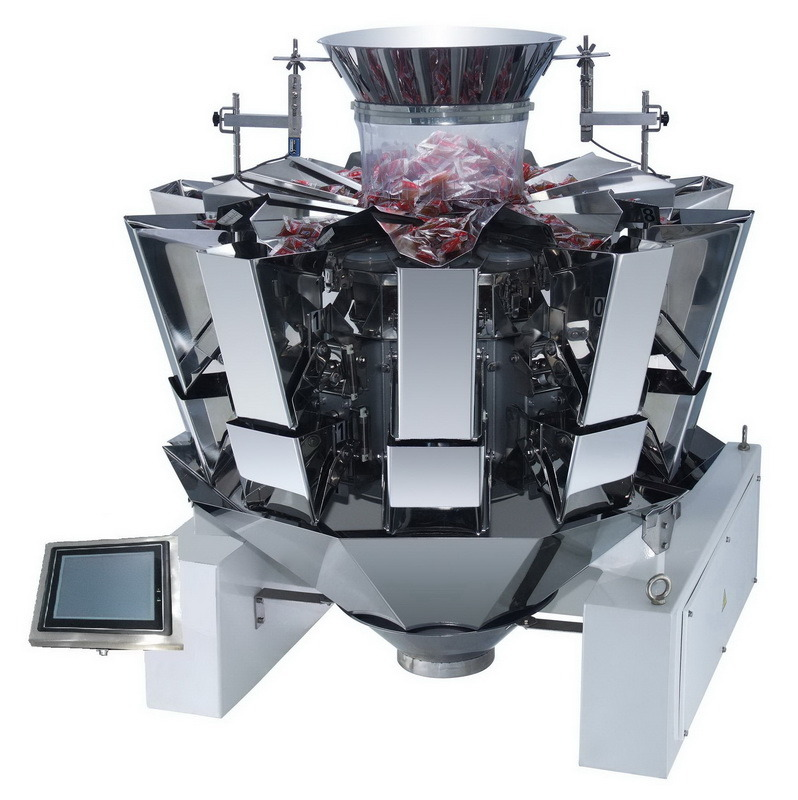 Dorito Chips Automatic Weighing Machine 10 Heads Weigher Jy-10hst