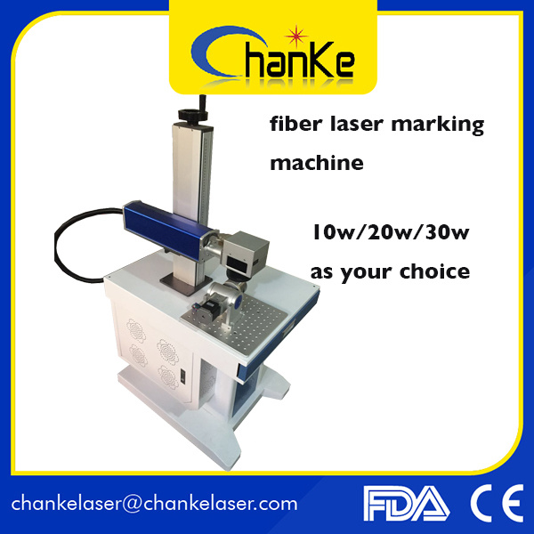 Fiber Mini Metal Laser Marking Machine for Metal Plastic