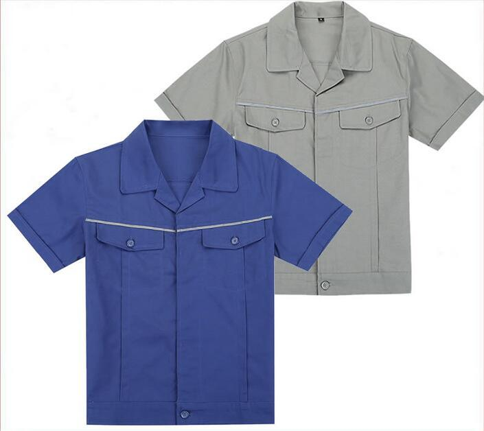 [Hot Item] Customized Design Working Wear Clothes for Industrial Worker  Safety Uniforms