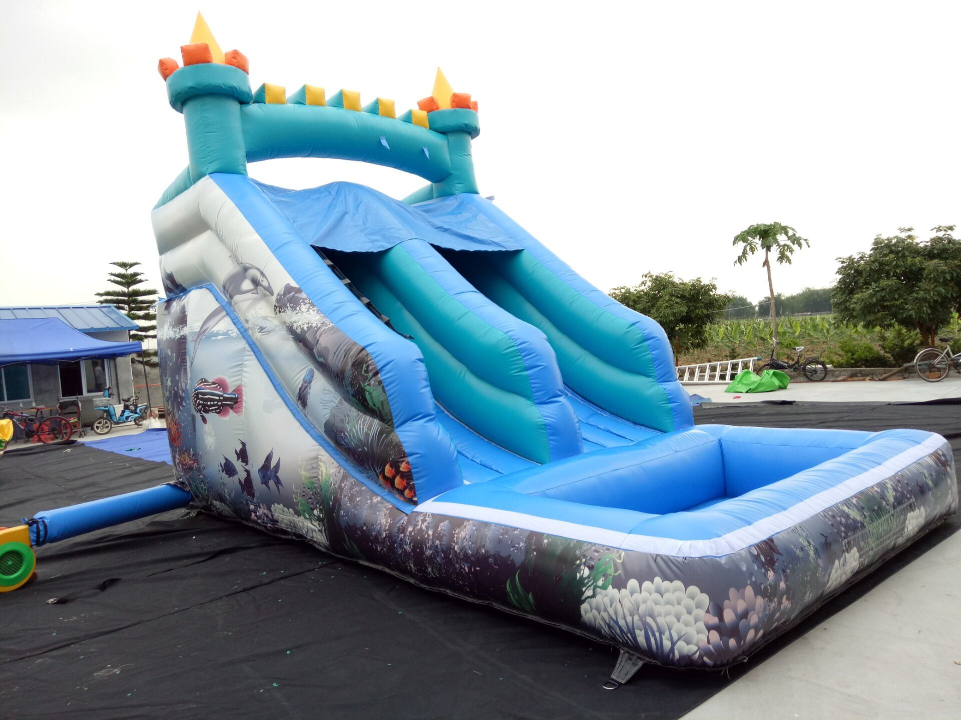 26843b5ba3c China Cheap Hot Sale Giant Inflatable Water Slide for Kids and Adult -  China Inflatable Water Slide