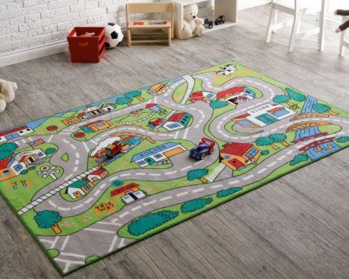 Playing Area Rugs Mat For Kids And Baby