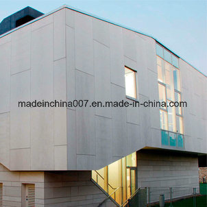 Fibre Cement Cladding Sheet Facade Board Fireproof Painted Fiber