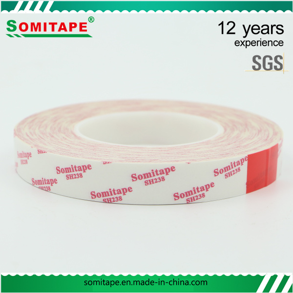 Sh328 Heat-Resistant Solvent Double Sided Tape for Office School Paper Somitape