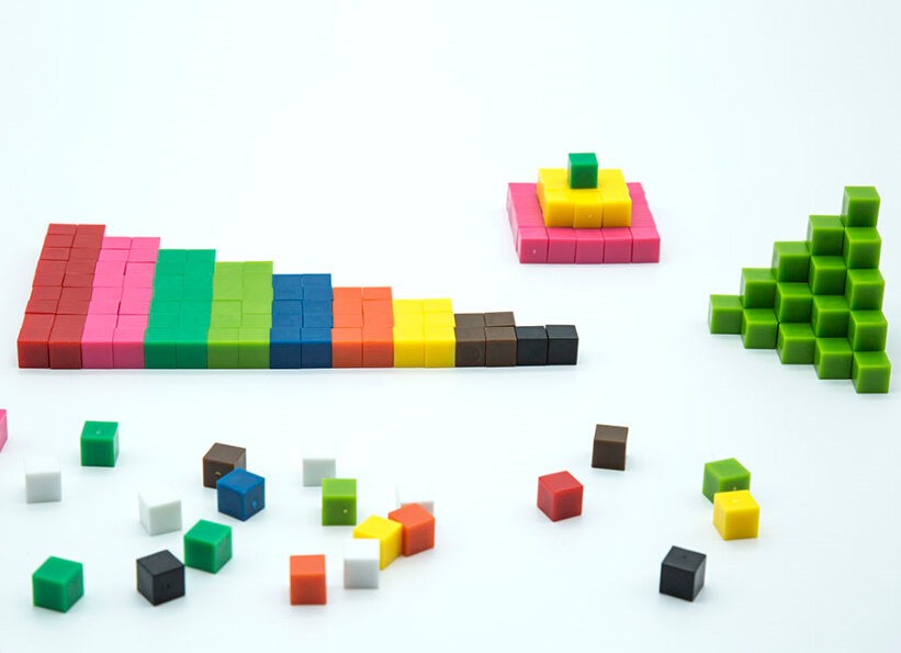 Plastic Mathematics Manipulatives Geometry Pattern Blocks