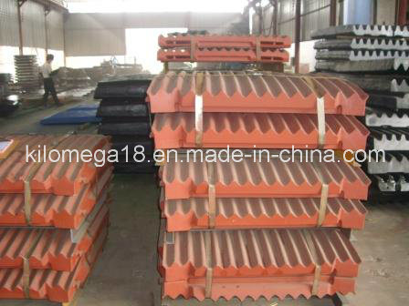High Manganese Jaw Plate for Jaw Crushers pictures & photos