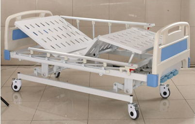 Manual Three-Function Hospital Bed