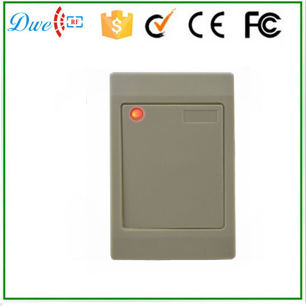 Factory Price 12V Weigand 26 Waterproof IP65 RFID Em-ID 125kHz Proximity Access Control Reader