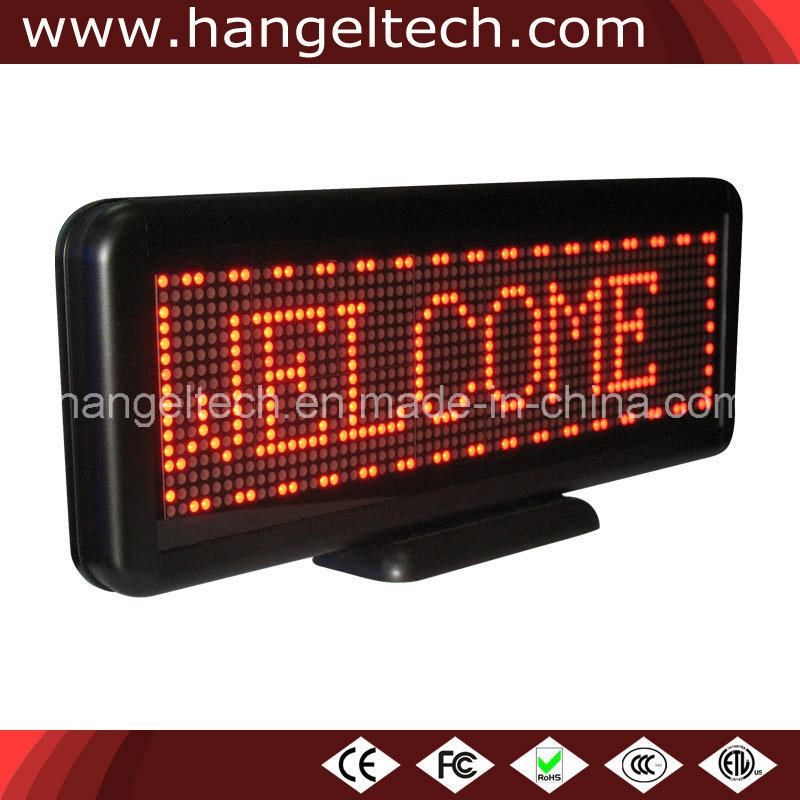 [Hot Item] 16X64 Pixels Small Size LED Moving Display Sign