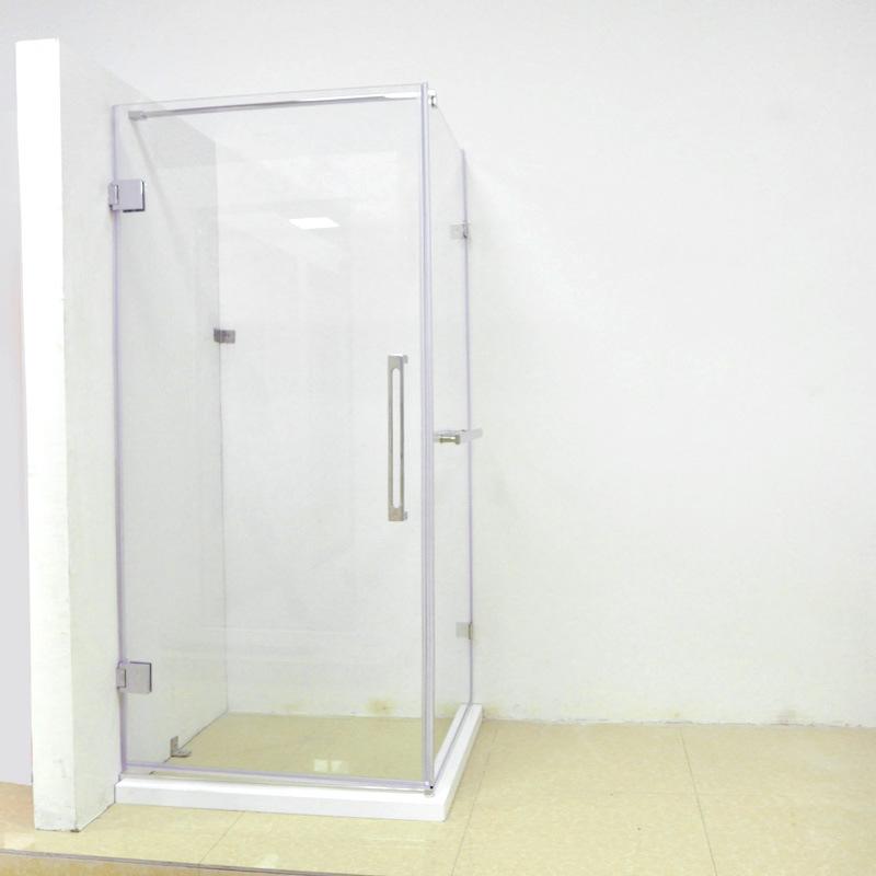 China Chrome 1200X900mm Simple Corner Showers Shower Cabin - China ...