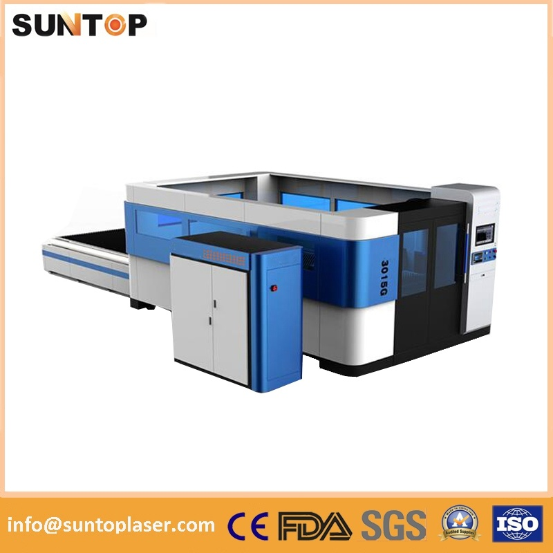 3000W Ipg Fiber Laser Cutting Machine/ High Power Fiber Laser Cutting Machine