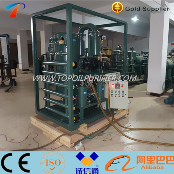 High Dewatering Degassing Efficiency Insulating Oil Treatment Machine