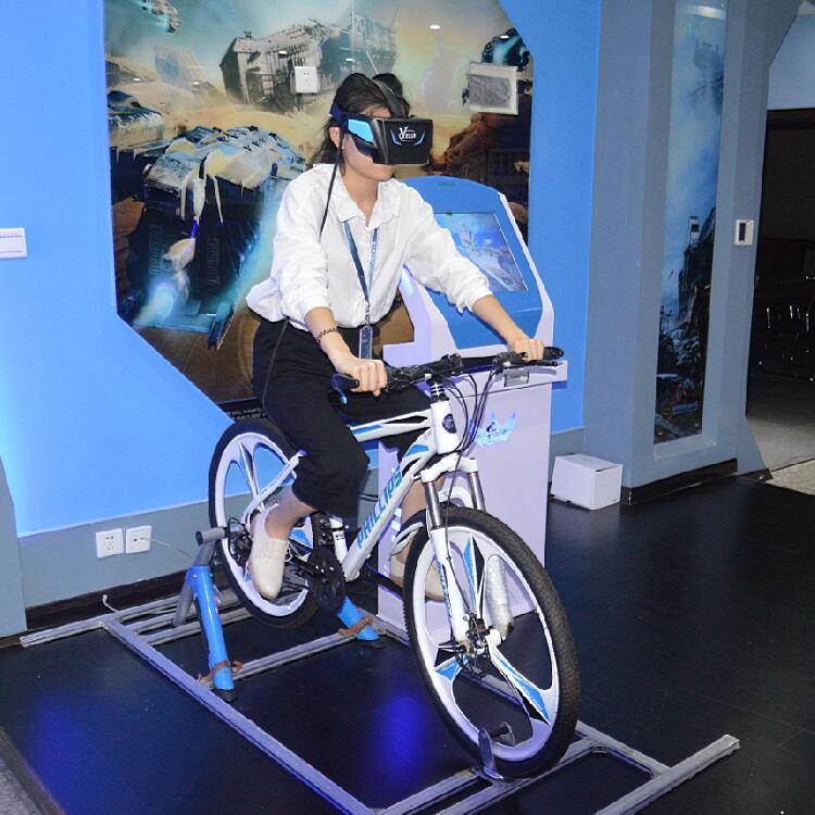 [Hot Item] High Quality Real Feeling Virtual Reality Simulator 9d Cinema Vr  Bike 9d Vr Glasses