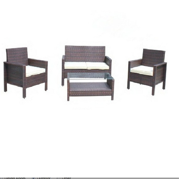 China 4pcs Brown Garden Classics Patio, Garden Classics Patio Furniture