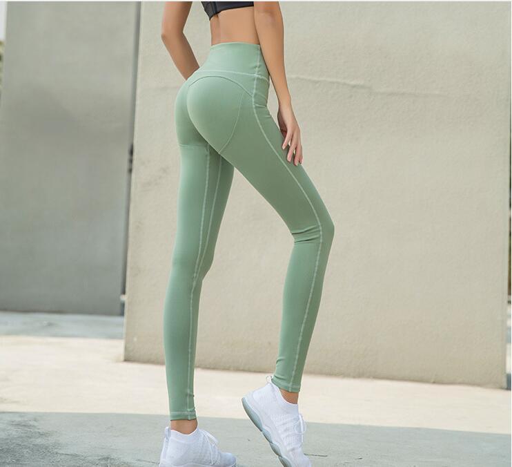 407c930dfb856 China High Waisted Leggings Fitness Yoga Wear Cropped Gym Tights Women  Elastane Gym Yoga Pants - China Legging, Yoga Pants