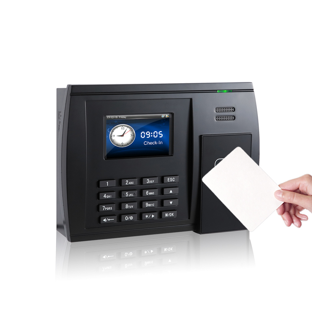 [Hot Item] (S550) Punch Card Time Attendance Machine with 125kHz Card or  13 56MHz Card
