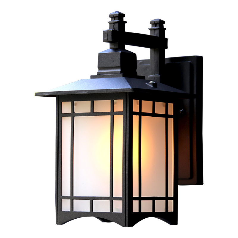 China European Style Antique Solar Wall Lights Outdoor Waterproof Wall Lantern Villa Garden Exterior Lamp Wall Mounted Indoor Lights China Led Stainless Steel Outdoor Wall Light Led Wall Lamp Lighting