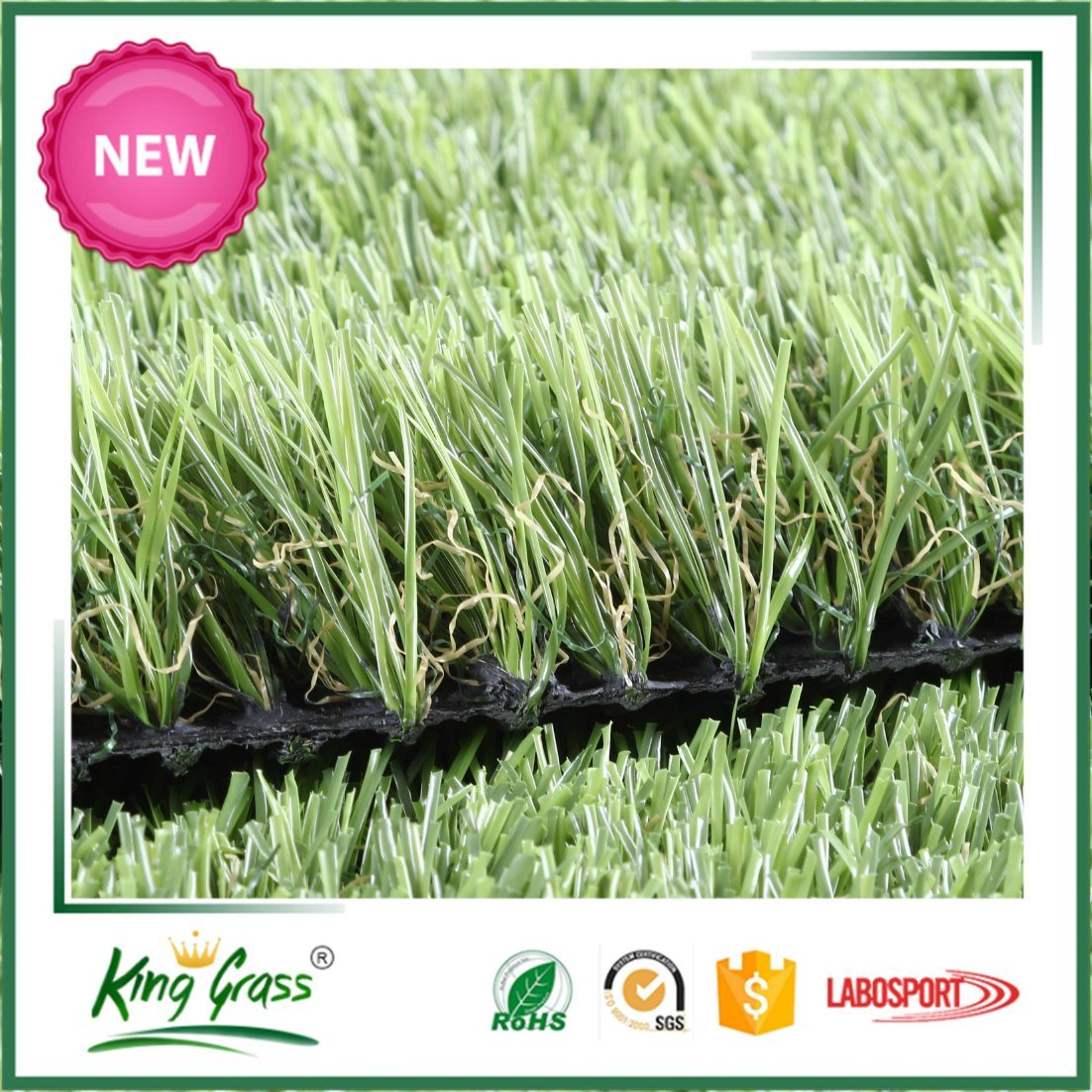 China Plastic Ski Turf Artificial Grass Roll with Good Price