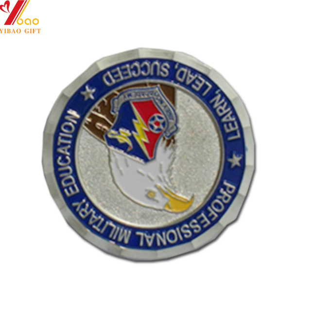 [Hot Item] Souvenir Plated Silver Coin for Ptomotion Gifts (YB-CO-08)
