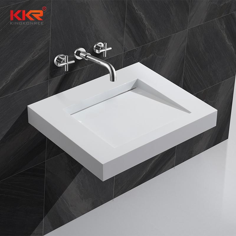 Wall Hung Sink Bathroom Cabinet Basins
