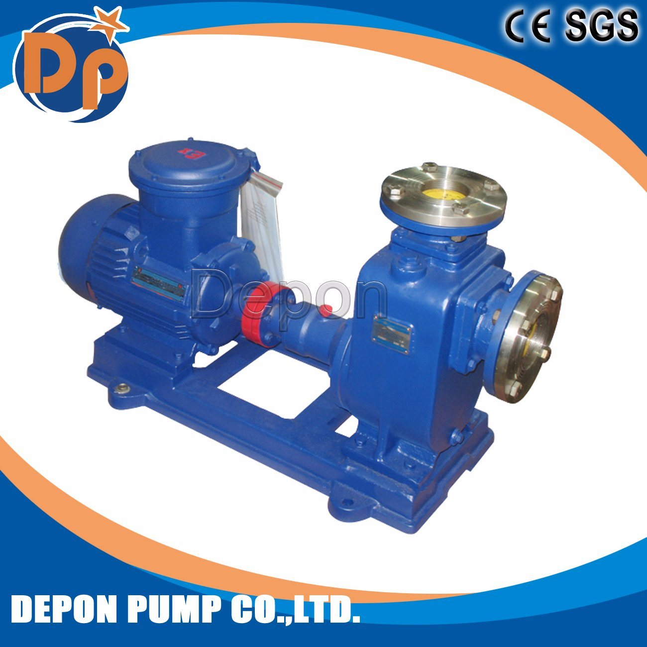 6 Inch Self Priming Non-Clogging Sewage Pump Trash Pump pictures & photos