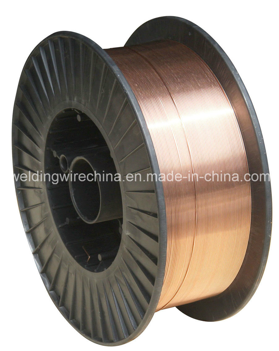 China Hot Sale CO2 Gas Shielded MIG Welding Wire (GB/T ER49-1/ G4Si1 ...