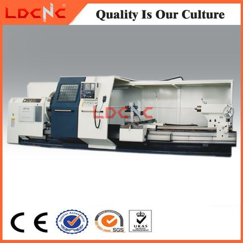 Industrial Metal Lathe Machines Lathe Machines For Sale >> Hot Item Industrial Horizontal Big Bore Cnc Lathe Machine For Sale Ck61100