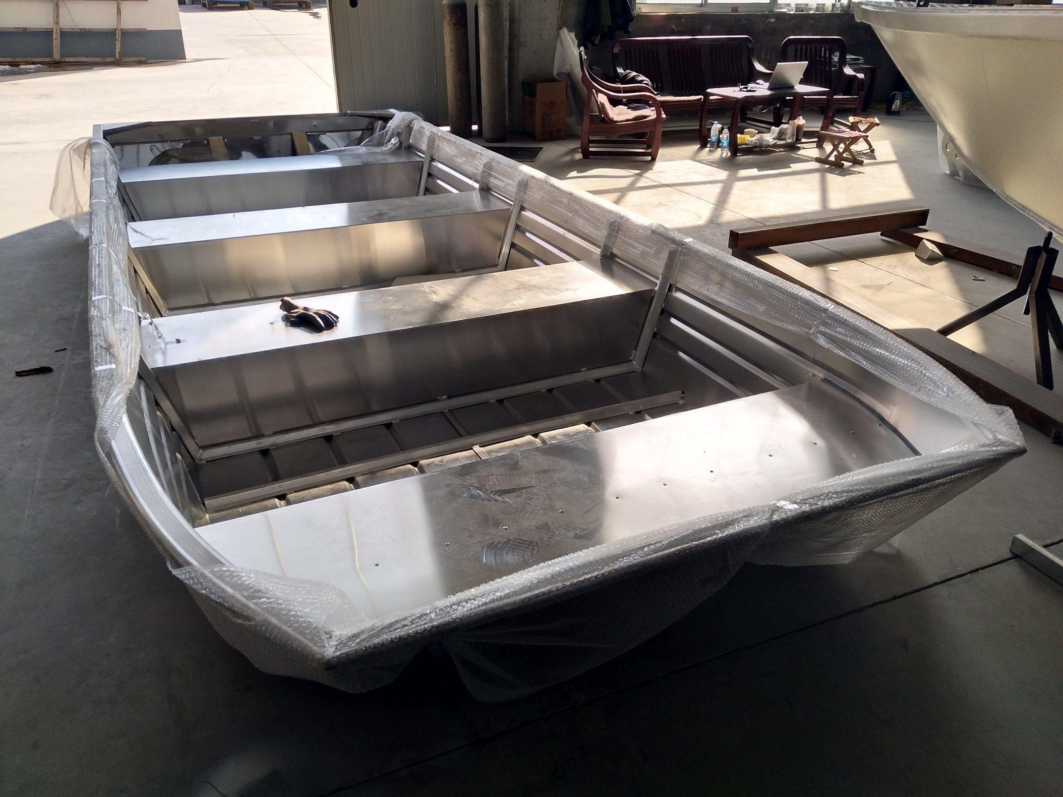 Aluminum Rescue Boat/Flat-Bottom Boat/River Boat