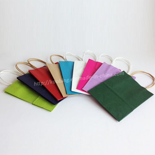 China Craft Paper With Handle Different Types Of Paper Bags China