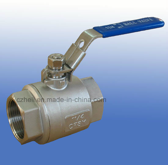 Stainless Steel 2PC Full Port Ball Valve 1000wog