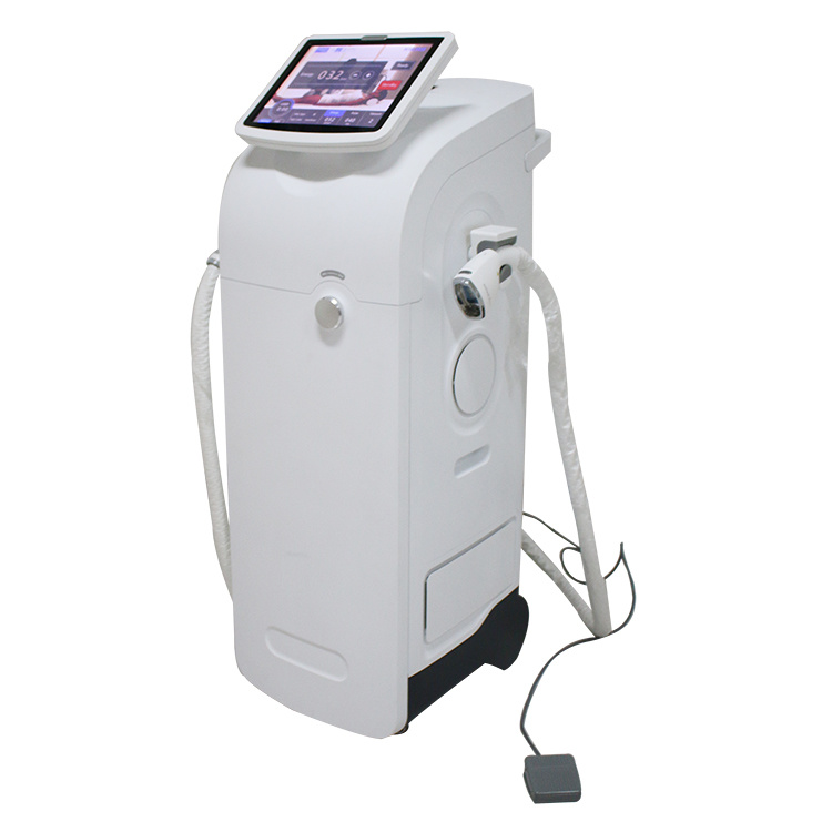 High Power Vacuum 808/810 Diode Laser Hair Removal Mahchine (22*35mm big spot) pictures & photos