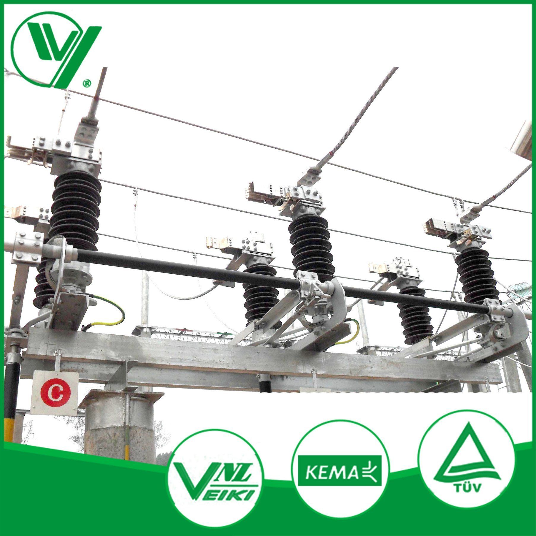 Outdoor 3 Phase Isolating Switch of High Voltage